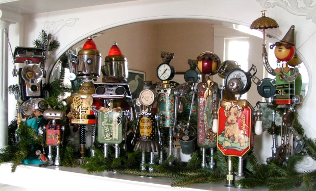 2012 Christmas Mantelpiece
